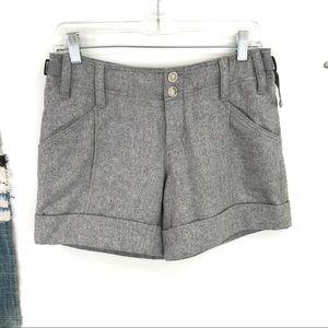 ANTHROPOLOGIE Hei Hei Wool Grey Calendar shorts 4